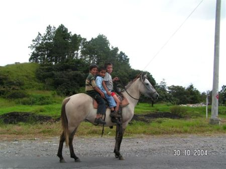 Getting to school in rural Panama